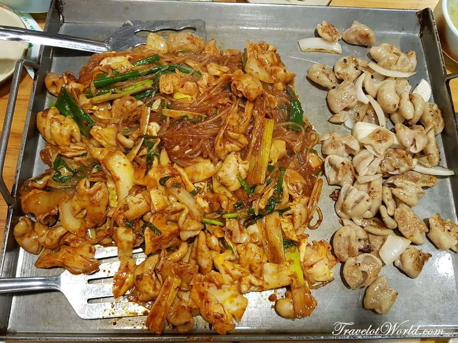 Delicious Gopchang Grilled Beef Chitterlings In Dongdaemun Woorigopchang 우리곱창 Travel Over The World